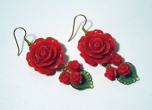 RoseEarrings